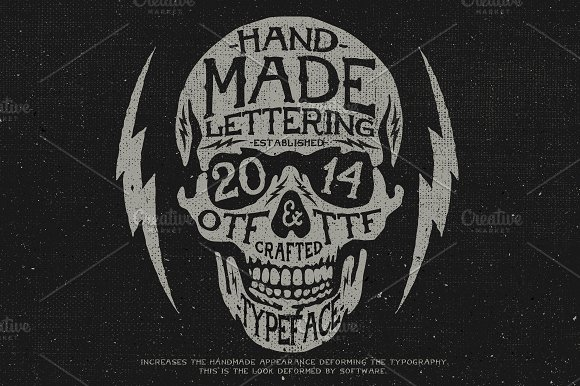 American Handmade Typeface in Display Fonts - product preview 1