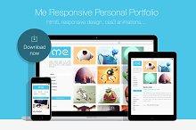 Me • Responsive Personal Portfolio