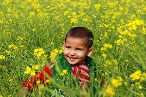 Children and Mustard