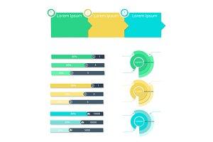 Business analytics and infographics
