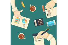 Business analytics and financial