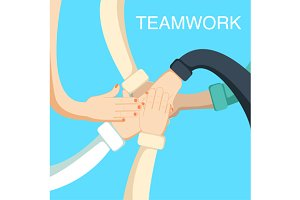 Business people teamwork concept