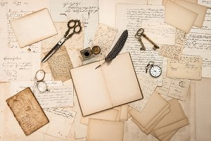 Old handwritten letters