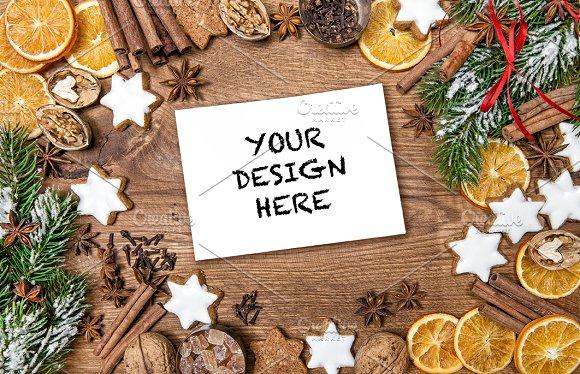 Christmas Style Product Mockup Mockups Creative Market