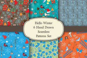 Hello Winter 6 Patterns Set