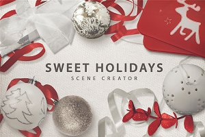 40%Off Sweet Holidays Scene Creator!