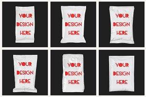 Paper Bag Package Mock-up