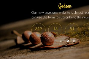 Godean - Comingsoon Template