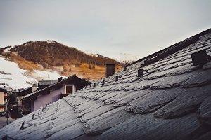 Black Stone Roof