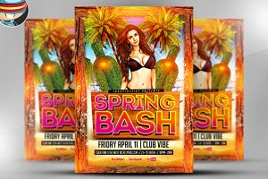 Spring Bash Flyer Template