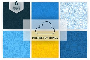 Internet of Things Line Patterns