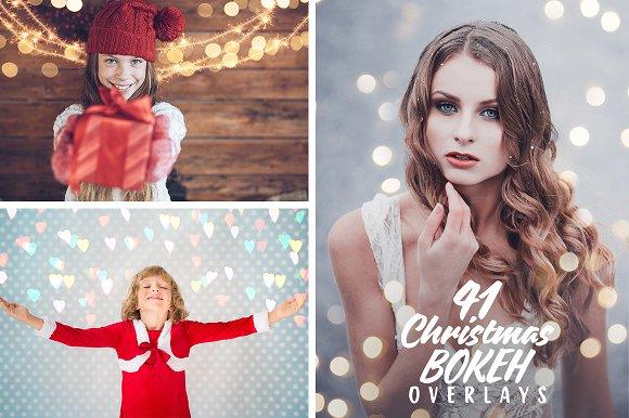 41 Christmas Creative Overlays