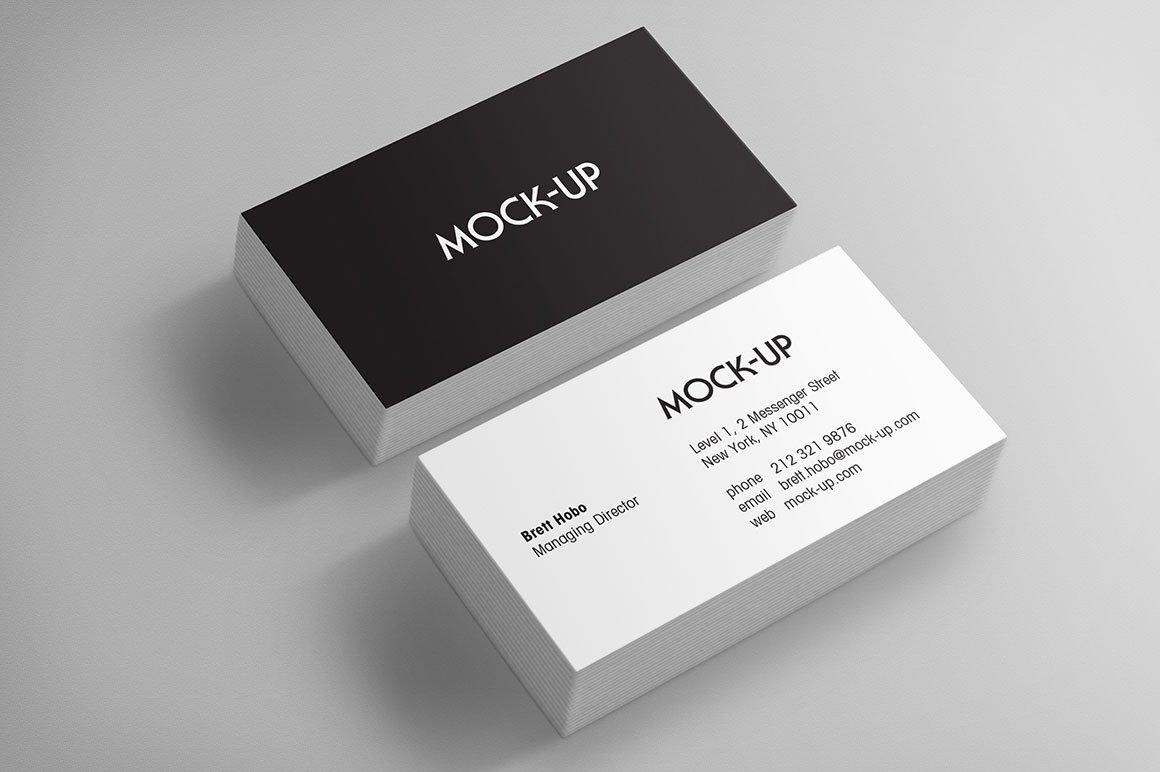 Download Business Card Mockups ~ Print Mockups ~ Creative Market Free Mockups