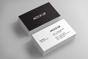 Business Card Mockups