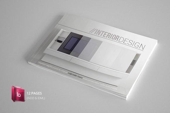 Indesign Catalogue Template ~ Brochure Templates ~ Creative Market