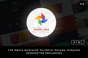 Folio One - Portfolio Template