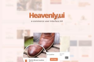 Heavenly eCommerce UI