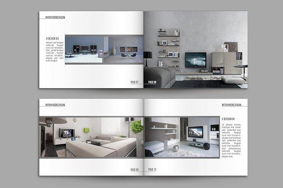 indesign catalogue template brochure templates creative market