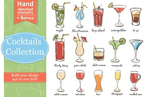 Classic Cocktails, Alcohol Drinks