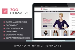 ZooCommerce - eCommerce Template