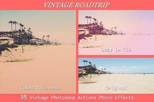 Vintage Roadtrip - 35 PS Actions