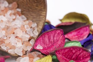 Sea salt and potpourri