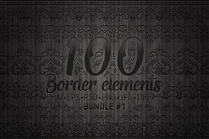 100 Border Elements Part 1
