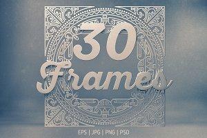 30 Vintage Frames
