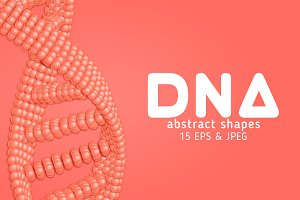 15 Abstract DNA Shapes