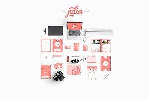 JULIA- Brand Identity Pack