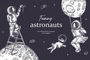 Funny astronauts
