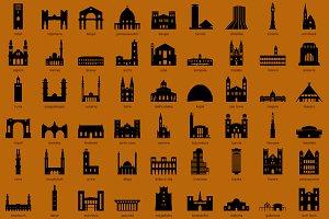 African Capital Landmarks