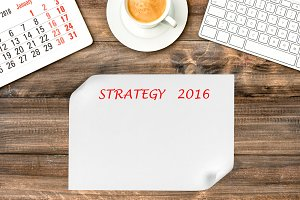 Calendar 2016 Business strategy