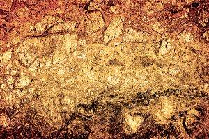 Texture of bronze marble slab macro