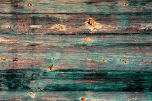 Old painted vintage wooden texture
