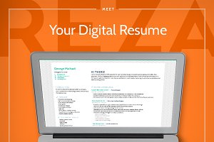 Reza – Responsive Digital Resume