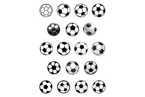 Soccer or football game balls