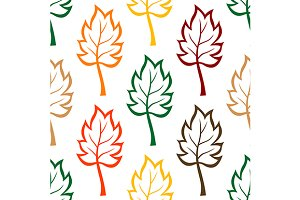 Seamless background pattern of color