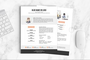 Media Kit Template | No.1