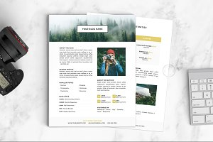 Media Kit Template | No. 2
