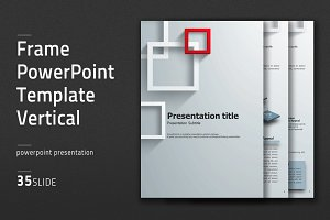Frame PowerPoint Template Vertical
