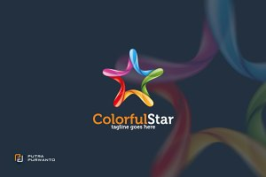 Colorful Star - Logo Template