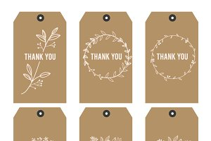 Thank you Printable tags II updateV2