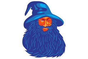 Norse God Odin Beard WPA
