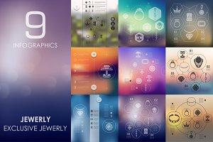 9 jewelry infographics