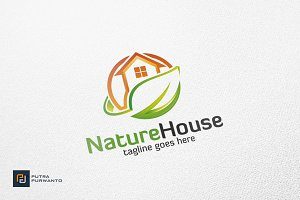 Nature House - Logo Template