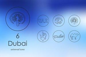 6 Dubai icons
