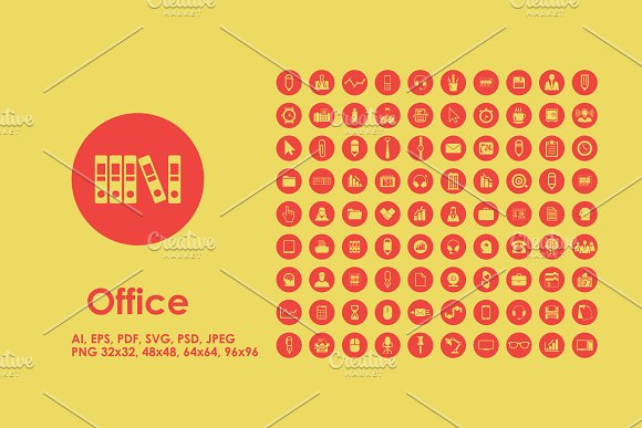 Office icons in Graphics