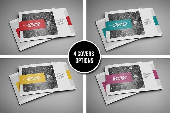 booklet brochure template 2 brochure templates creative market