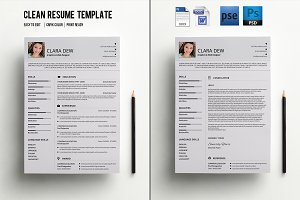 Resume with Cover Letter-V013
